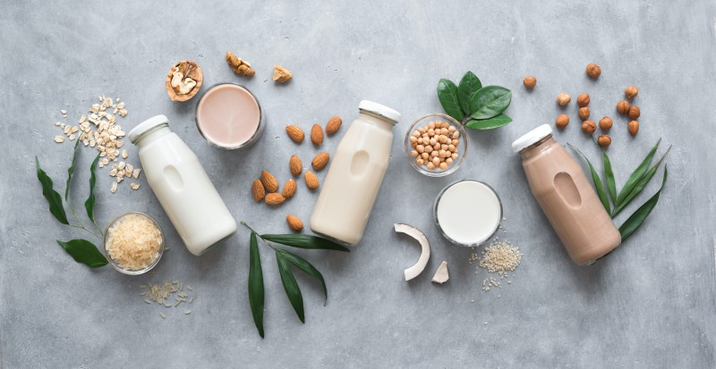 healthy food substitutions nut milk