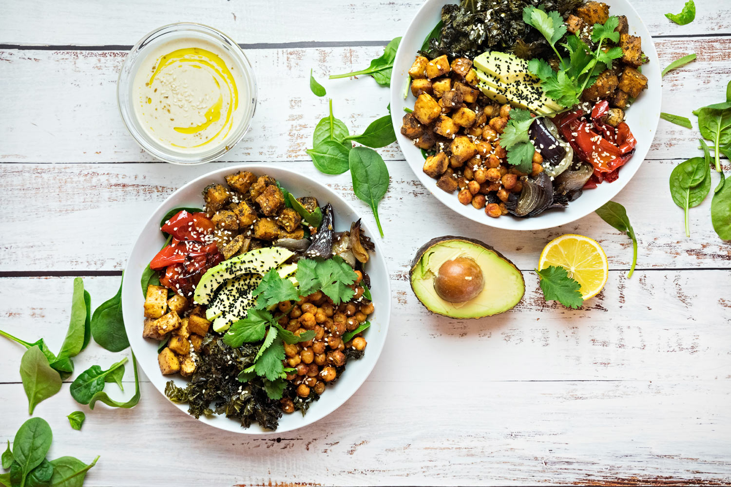 Plant based buddha bowl
